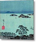 Kanazawa Full Moon 1857 Left Metal Print