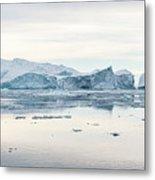 Kangia Icefjord Metal Print