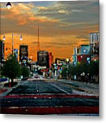 Kansas City Evening Metal Print