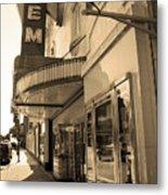 Kansas City - Gem Theater Sepia 2 Metal Print