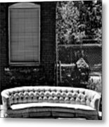 Kansas City Couch Metal Print