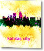 Kansas City Skyline 1 Metal Print