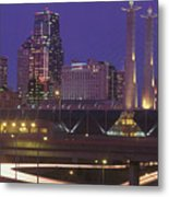 Kansas City Skyline 1998 Metal Print