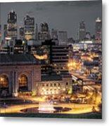 Kansas City Skyline Metal Print by Ryan Heffron