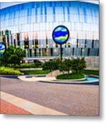 Kansas City Sprint Center Metal Print