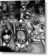 Kaos Theory Metal Print