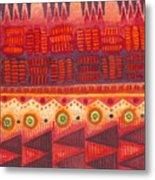 Kapa Pattern 4 Metal Print