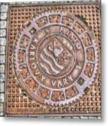 Karlovy Vary Element Metal Print