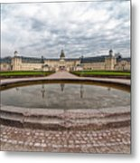 Karlsruhe Palace View Metal Print