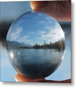 Kaslo Through The Looking Glass Metal Print