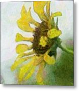 Kate's Sunflower Metal Print