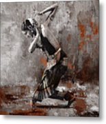 Kathak Dancer A1 Metal Print