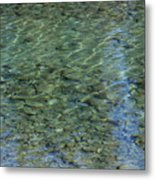 Kathleen River Keflections Metal Print