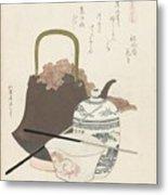 Katsushika Hokusai Metal Print