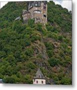 Katz Castle And Village Metal Print