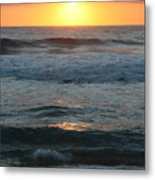 Kauai Sunrise Metal Print