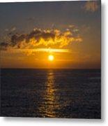 Kauai Sunset 4 Metal Print