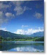 Kauaihai Ridge Metal Print
