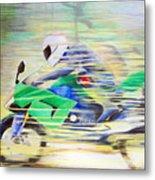 Kawasaki Quick - Kawasaki Zl1000 Metal Print