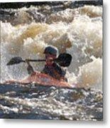 Kayak 6 Metal Print