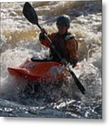 Kayak 7 Metal Print