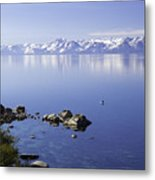 Kayak On Lake Tahoe Metal Print