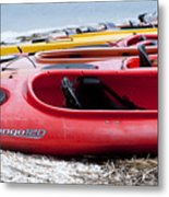 Kayak Ready Metal Print