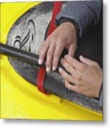 Kayakeer Hands Metal Print