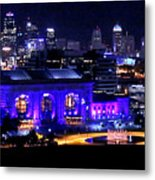 Kc Skyline 2015-9850b Metal Print
