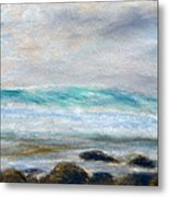 Ke' E Wave Metal Print