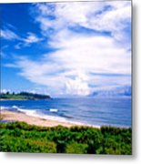 Kealia Beach Metal Print