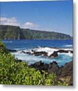 Keanae Peninsula, View Metal Print