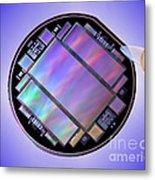 Keck Telescope Ccd Imager Metal Print