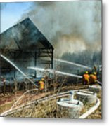 Keep Fire In Your Life #15 Metal Print