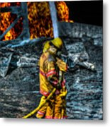 Keep Fire In Your Life No 8 Metal Print