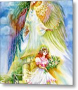 Keep Her Safe Lord Metal Print