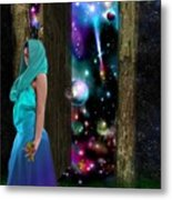Keeper Of Other Worlds  Metal Print