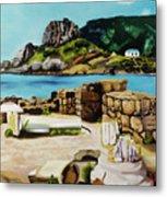 Kefalos, Greece Metal Print