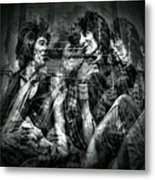 Keith And Ronnie 2 Metal Print