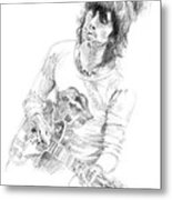 Keith Richards Exile Metal Print