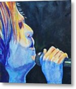 Keith Urban In Concert Metal Print