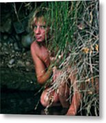 Kelly Nude Metal Print