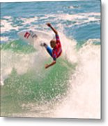 Kelly Slater  Us Open Of Surfing 2012     7 Metal Print