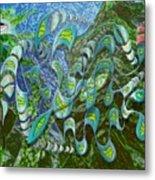 Kelp Dragon Metal Print