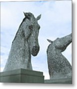 Kelpies Metal Print