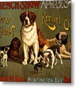 Kennel Club Metal Print