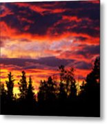 Kenosha Pass Sunrise Metal Print