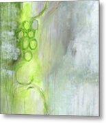 Kensho- Abstract Art By Linda Woods Metal Print