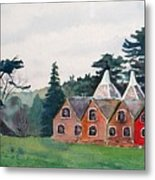 Kent Country Houses Metal Print