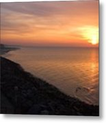 Kentish Sunset Metal Print